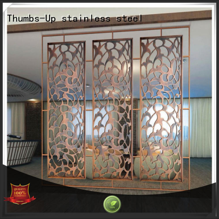 Thumbs-Up hollow stainless steel decorative panels manufacturer for living room