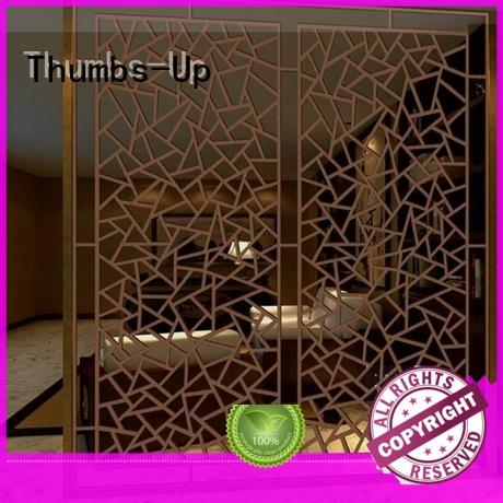 black stainless steel decorative panels tube for store Thumbs-Up