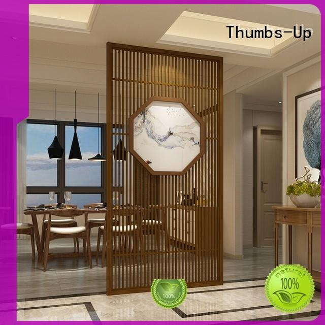 hollow black stainless steel decorative panels Thumbs-Up Brand