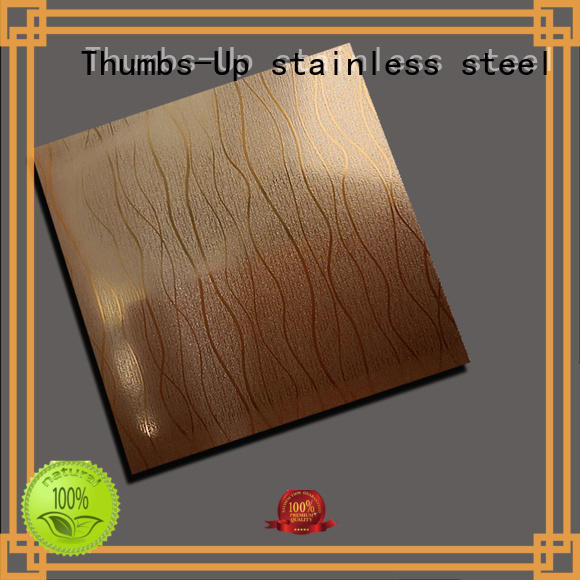 Thumbs-Up rotary stainless steel sheet metal cost design for signboard