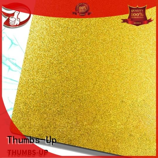 Thumbs-Up coating stainless steel metal plate finishlight for ceiling