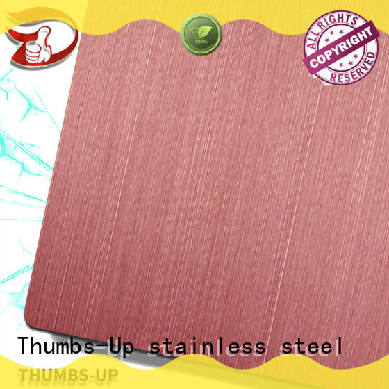 Thumbs-Up coating stainless steel checker plate manufacturer for lobby