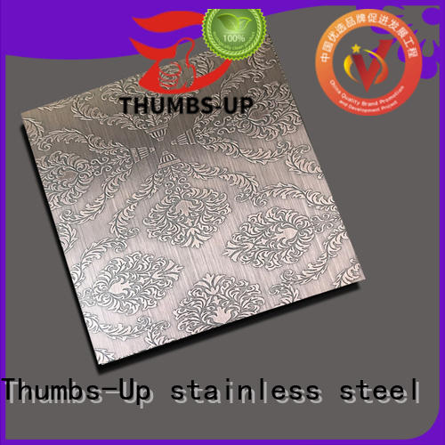 Thumbs-Up ancient laser etching stainless steel wholesale for ceiling