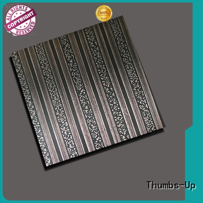 Thumbs-Up snow stainless steel sheet sizes supplier for lobby