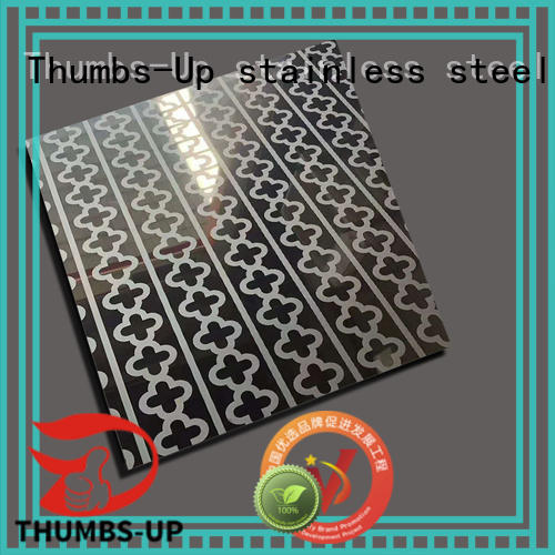316 stainless steel sheet satin finish supplier for ceiling