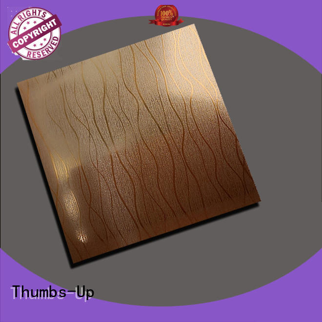 plated textured stainless sheet wholesale for building