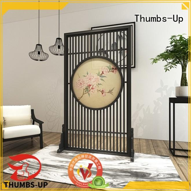 Thumbs-Up plated decorative metal screen panels manufacturer for living room