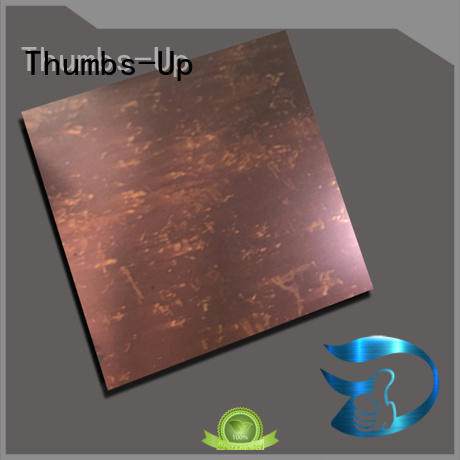 laser blue stainless steel plate Thumbs-Up Brand