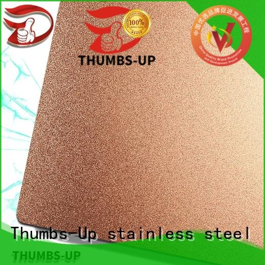 Thumbs-Up grainanti thin stainless steel sheets factory for lobby