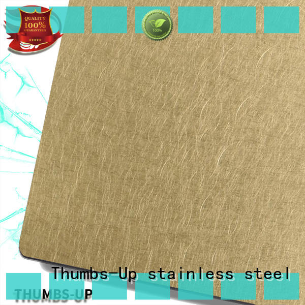 Thumbs-Up coffee sheet metal plate manufacturer for hotel