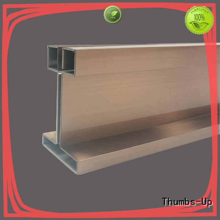 Thumbs-Up brass steel strip stock customized for house