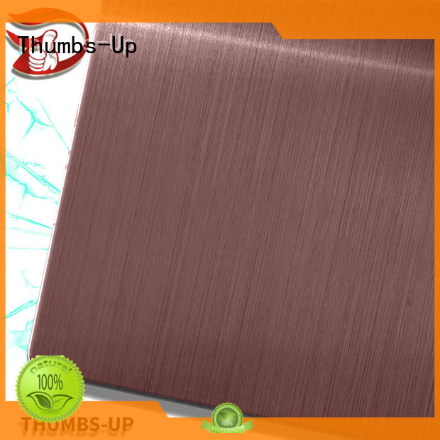 nano standard stainless steel plate thickness hairlinecoffee factory for ceiling