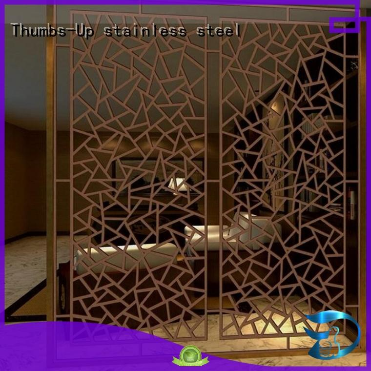 steel privacy screen plated titanium laser stainless steel decorative panels manufacture