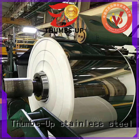 Thumbs-Up 430 stainless steel sheet metal roll brushed for escalators