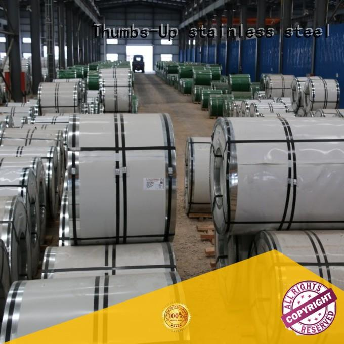 Thumbs-Up brushed stainless steel coil manufacturer for kitchen ware