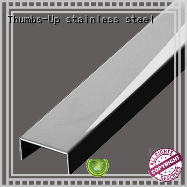 wrapping stainless steel angle trim customized for club