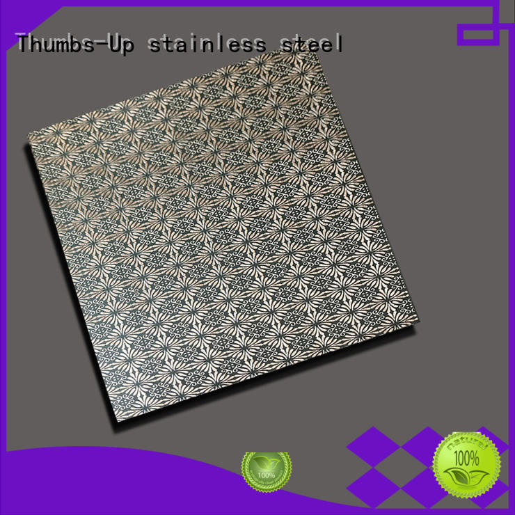 Thumbs-Up 316 stainless steel finish types supplier for elevator