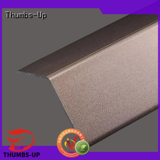 Thumbs-Up golden stainless steel molding strips edge for club