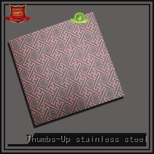 corrugated stainless steel floor plate design for signboard Thumbs-Up