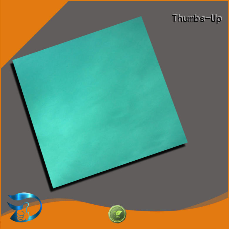 colored stainless steel sheets make emerald stainless steel plate Thumbs-Up Brand