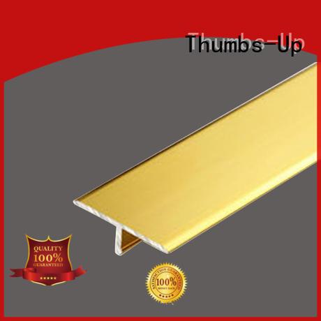 Titanium gold  stainless steel T decorative strip