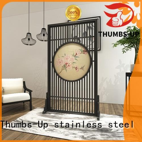 gold hollow copper Thumbs-Up Brand stainless steel decorative panels