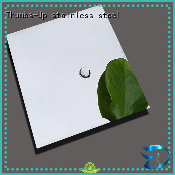 Quality Thumbs-Up Brand flexible stainless steel sheet construction decoration