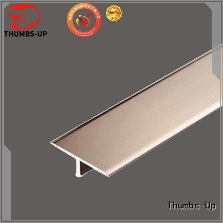 Thumbs-Up titanium brushed stainless trim supplier for villa
