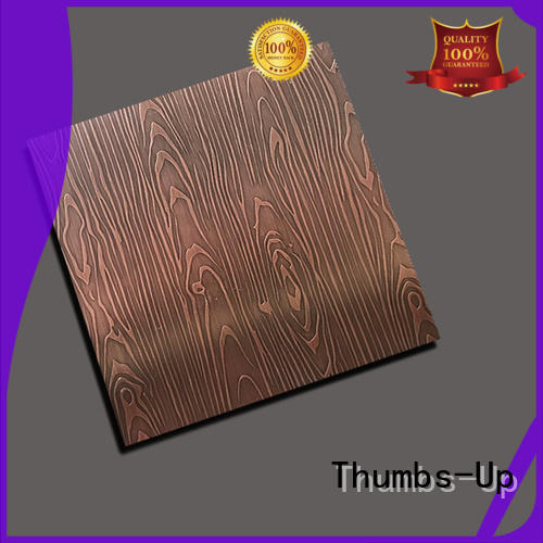 Thumbs-Up ancient stainless steel panels supplier for elevator