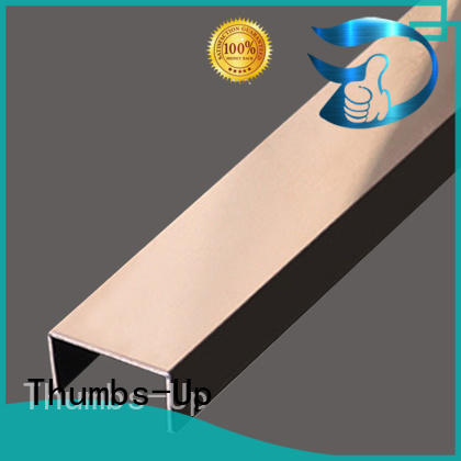 Thumbs-Up Brand gold card stainless steel transition strip