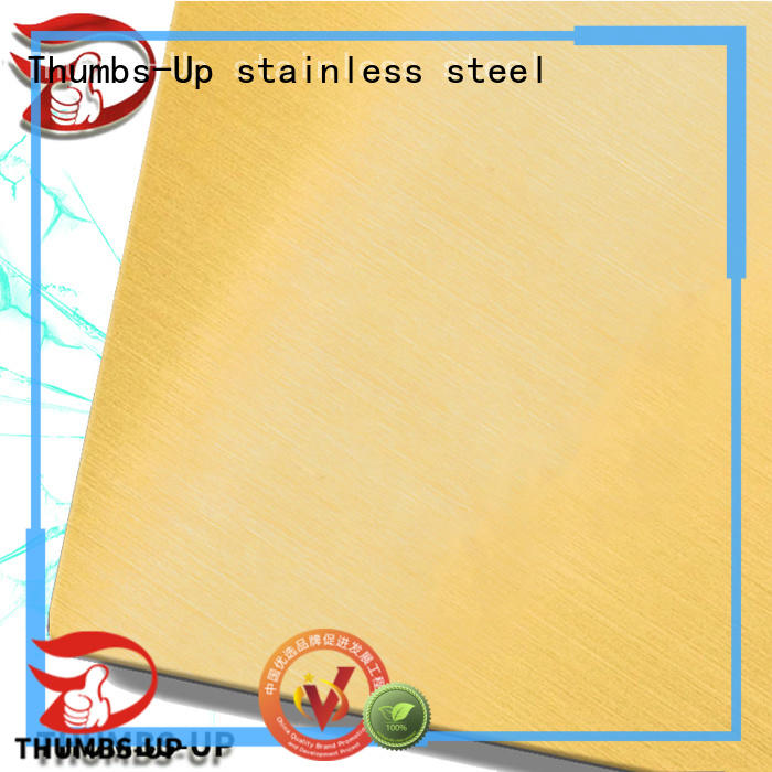 Thumbs-Up scrible stainless steel sheets price list manufacturer for hotel