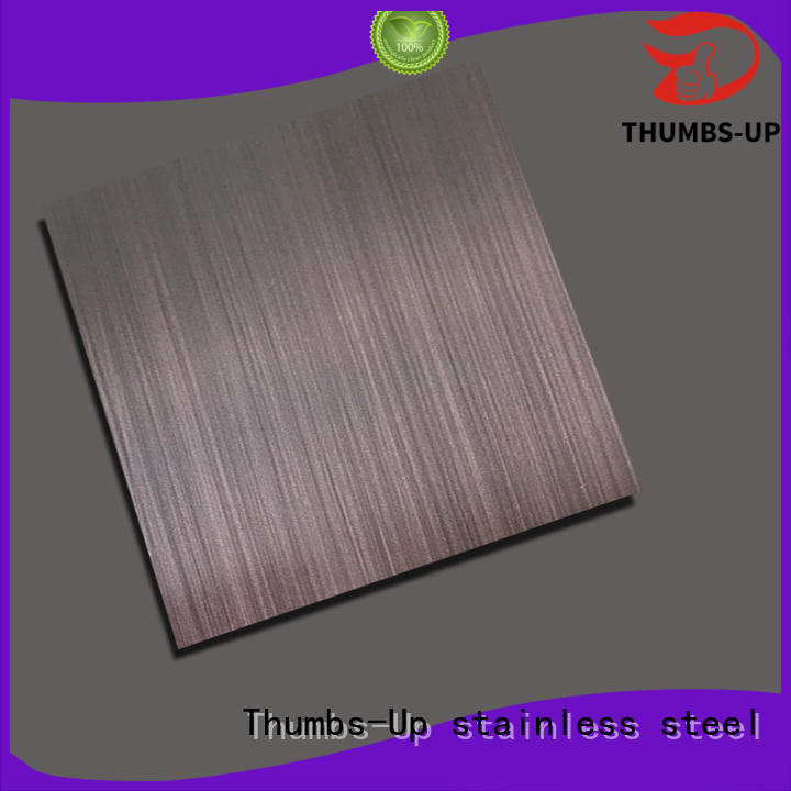 Thumbs-Up Brand gray stainless steel sheet cut to size sand blasting gray factory