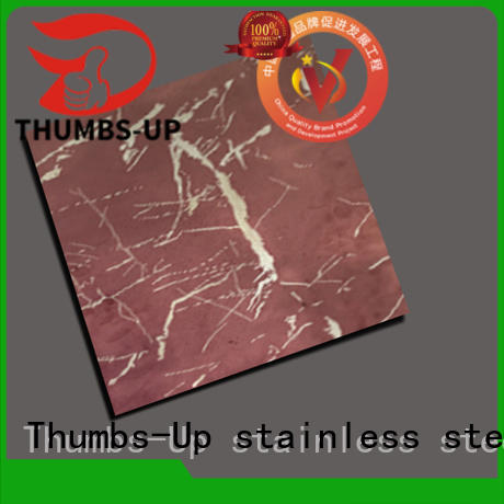 Thumbs-Up colorful stainless steel finish types wholesale for building