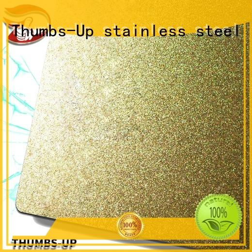 nanometre small stainless steel sheet wholesale for lobby Thumbs-Up