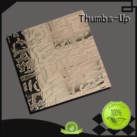 Thumbs-Up diamond etching zinc with ferric chloride supplier for lobby