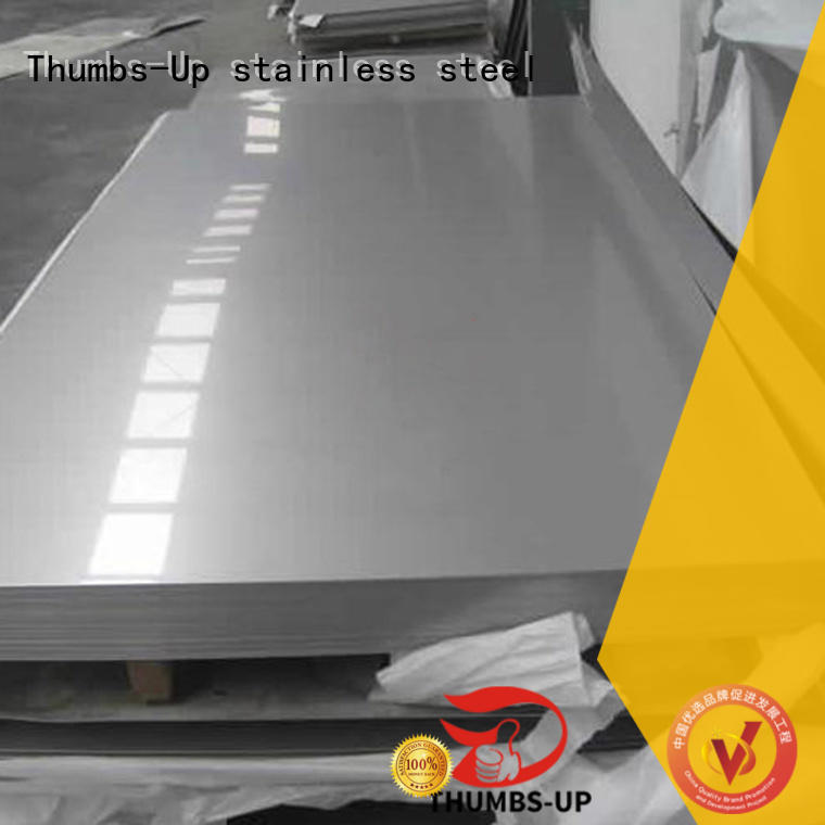 Thumbs-Up sheet stainless steel cutting board customized for machine