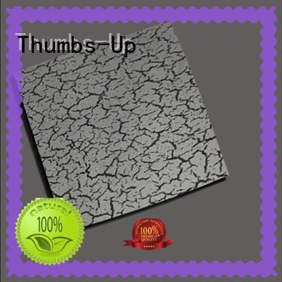 Thumbs-Up vintage black stainless steel sheet suppliers supplier for store
