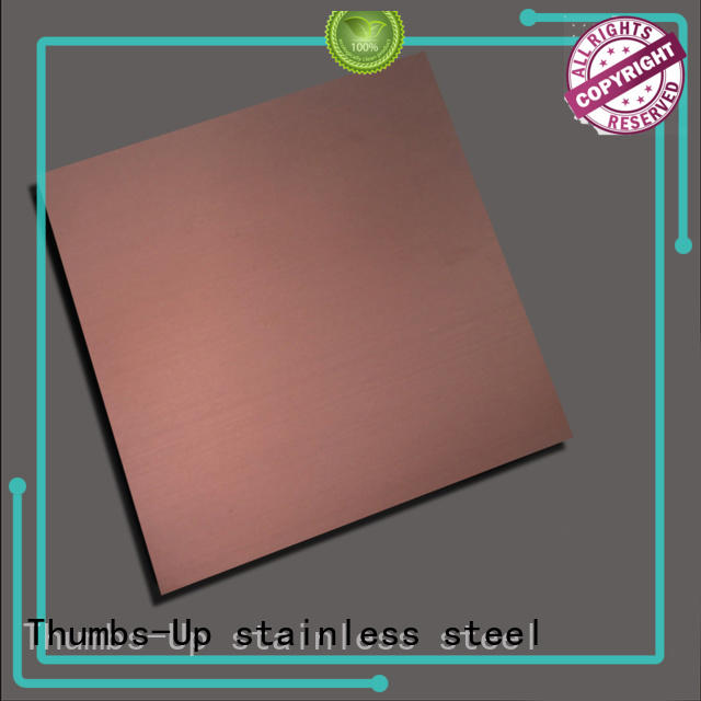 blue gold decorative gray Thumbs-Up Brand stainless steel sheet cut to size supplier
