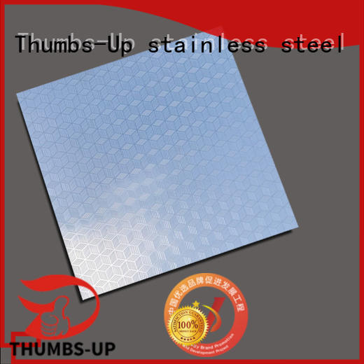 rotary restaurant stainless steel sheets bamboo supplier for signboard