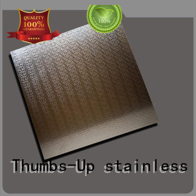 Thumbs-Up pressed thin stainless steel sheet customized for elevator
