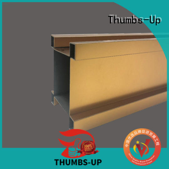 gold stainless steel edging strip customized for store Thumbs-Up