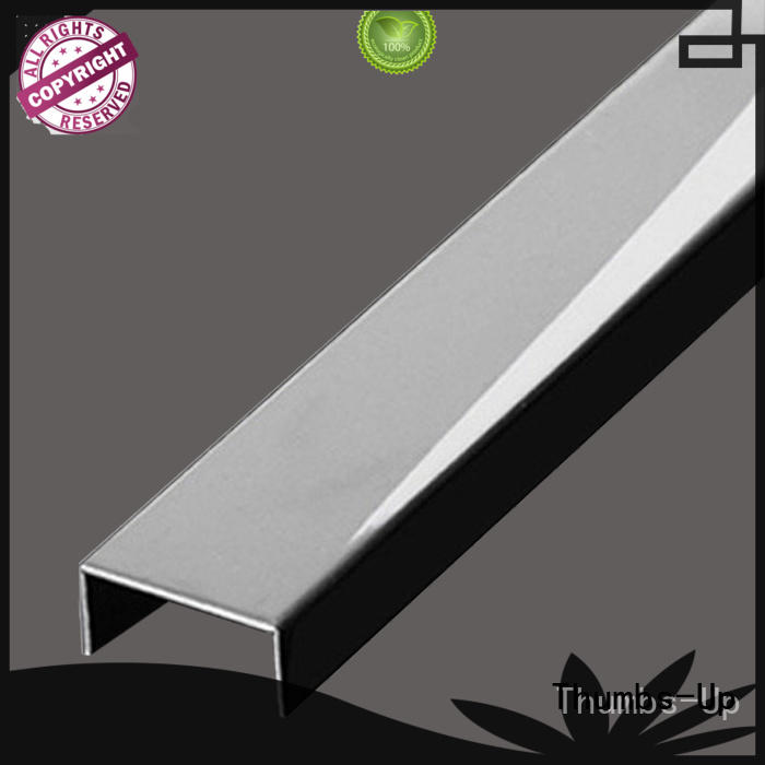 edge decorative metal strips steel for store Thumbs-Up