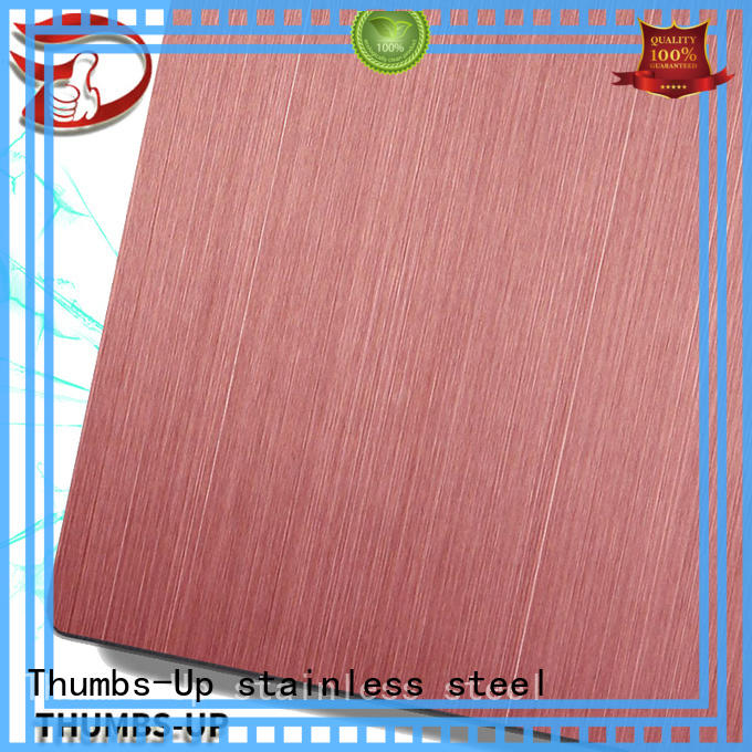 nano stainless steel plate supplier hairlinegold wholesale for cabinet