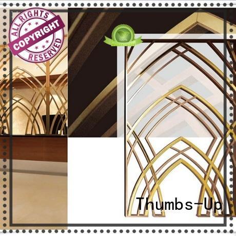vintage laser cut metal panels customized for villa