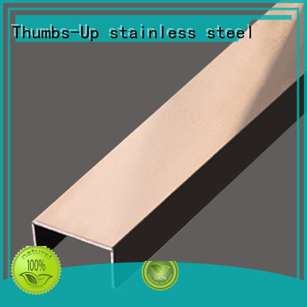 Thumbs-Up trapezoid metal moulding strips decorative for villa