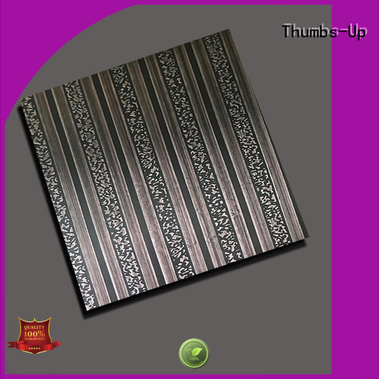 rose ancient snow Thumbs-Up Brand stainless steel sheet finishes manufacture