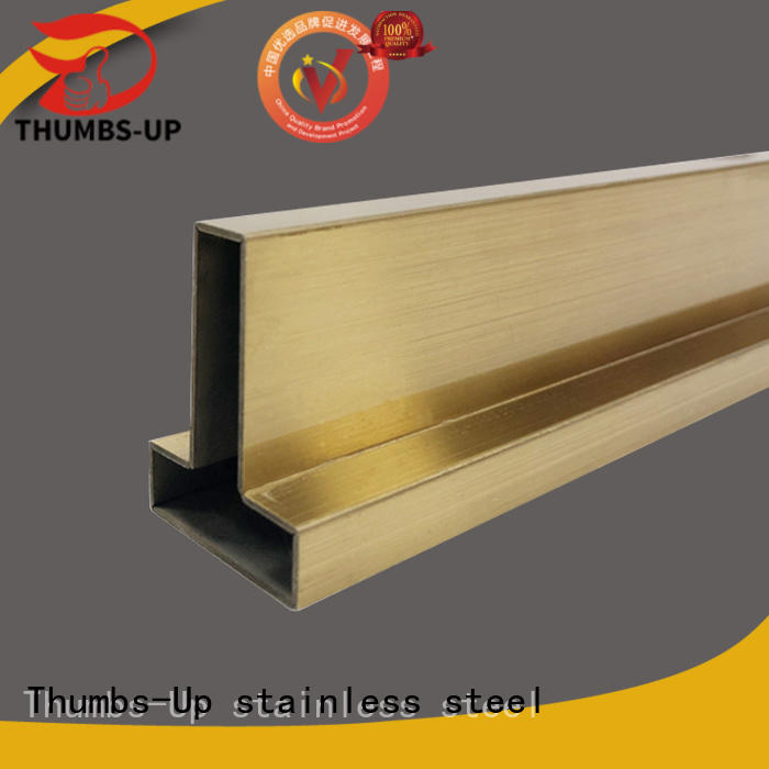 Thumbs-Up wrapping 2 inch wide metal strips customized for store
