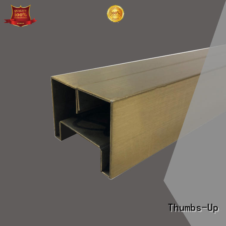 Thumbs-Up black decorative metal tile accents manufacturer for villa
