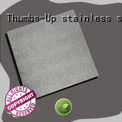 Thumbs-Up pearlescent stainless steel sheet cost customized for elevator