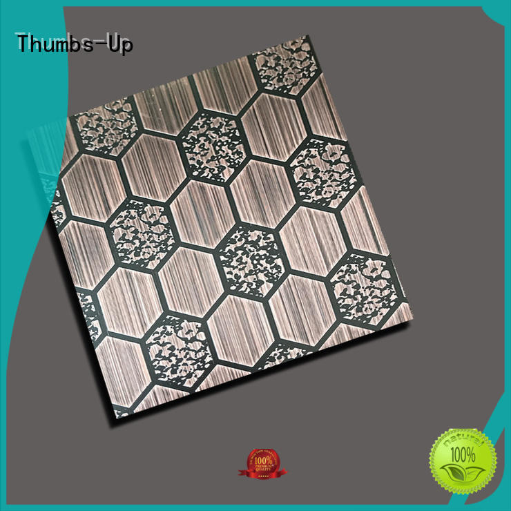 Thumbs-Up 304 brushed stainless steel sheet supplier for cabinet